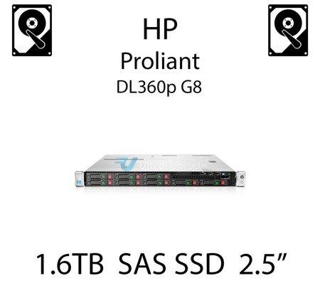 """1.6TB 2.5"""" dedykowany dysk serwerowy SAS do serwera HP ProLiant DL360p G8, SSD Enterprise  - 762263-B21 (REF)"""