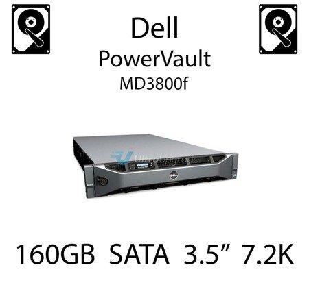 """160GB 3.5"""" dedykowany dysk serwerowy SATA do serwera Dell PowerVault MD3800f, HDD Enterprise 7.2k, 320MB/s - DC115"""