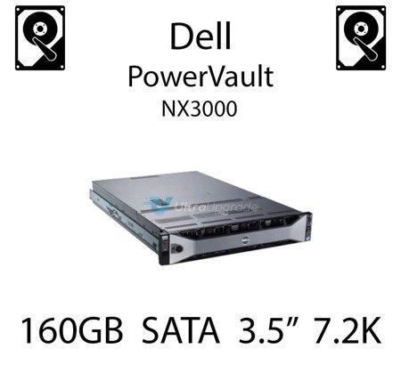 """160GB 3.5"""" dedykowany dysk serwerowy SATA do serwera Dell PowerVault NX3000, HDD Enterprise 7.2k, 320MB/s - DC115"""