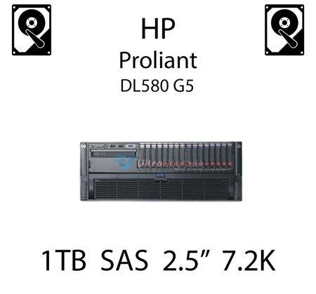 """1TB 2.5"""" dedykowany dysk serwerowy SAS do serwera HP ProLiant DL580 G5, HDD Enterprise 7.2k - 605835-B21 (REF)"""