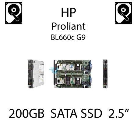 """200GB 2.5"""" dedykowany dysk serwerowy SATA do serwera HP ProLiant BL660c G9, SSD Enterprise  - 804639-B21 (REF)"""