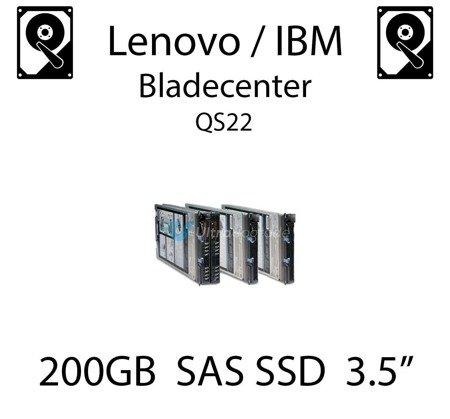 """200GB 3.5"""" dedykowany dysk serwerowy SAS do serwera Lenovo / IBM Bladecenter QS22, SSD Enterprise , 600MB/s - 00W1311"""