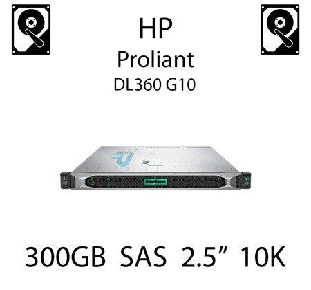 """300GB 2.5"""" dedykowany dysk serwerowy SAS do serwera HP ProLiant DL360 G10, HDD Enterprise 10k, 12Gbps - 872475-B21"""