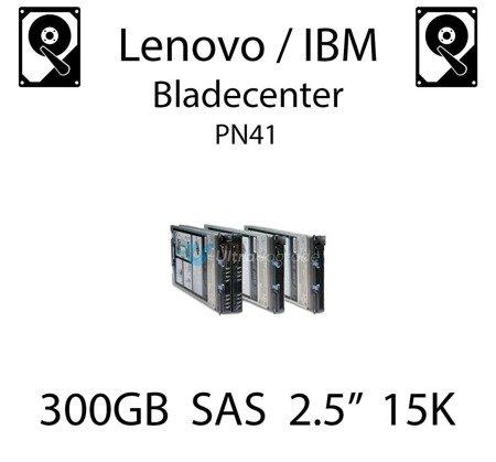 """300GB 2.5"""" dedykowany dysk serwerowy SAS do serwera Lenovo / IBM Bladecenter PN41, HDD Enterprise 15k, 600MB/s - 81Y9670"""