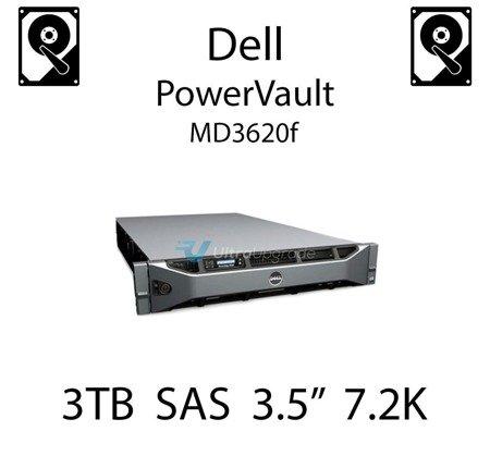 """3TB 3.5"""" dedykowany dysk serwerowy SAS do serwera Dell PowerVault MD3620f, HDD Enterprise 7.2k, 6Gbps - 698PM"""