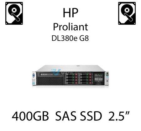"""400GB 2.5"""" dedykowany dysk serwerowy SAS do serwera HP ProLiant DL380e G8, SSD Enterprise  - 690827-B21 (REF)"""