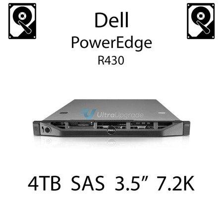 """4TB 3.5"""" dedykowany dysk serwerowy SAS do serwera Dell PowerEdge R430, HDD Enterprise 7.2k, 6Gbps - 0202V7"""