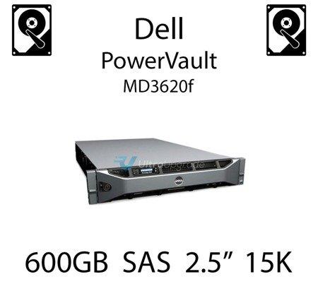 """600GB 2.5"""" dedykowany dysk serwerowy SAS do serwera Dell PowerVault MD3620f, HDD Enterprise 15k - RHRR4"""