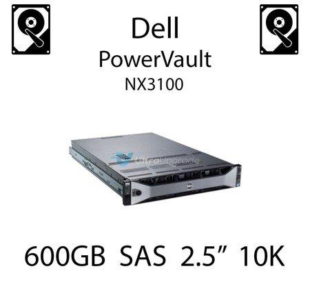 """600GB 2.5"""" dedykowany dysk serwerowy SAS do serwera Dell PowerVault NX3100, HDD Enterprise 10k - 6W3V5"""