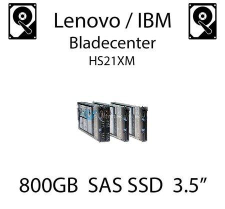 """800GB 3.5"""" dedykowany dysk serwerowy SAS do serwera Lenovo / IBM Bladecenter HS21XM, SSD Enterprise , 800MB/s - 00W1316"""