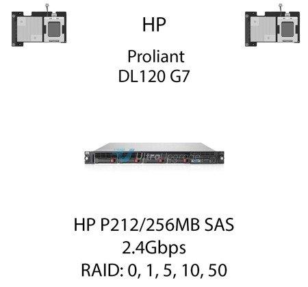 Kontroler RAID HP P212/256MB SAS  462834-B21, 2.4Gbps - 462834-B21