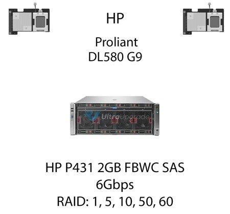 Kontroler RAID HP P431 2GB FBWC SAS, 6Gbps - 698531-B21