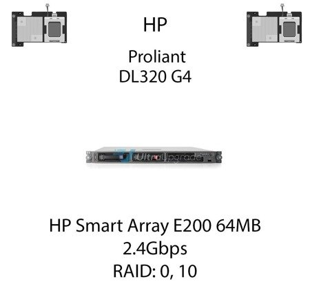 Kontroler RAID HP Smart Array E200 64MB, 2.4Gbps - 409180-B21